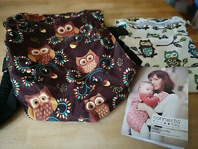 Connecta baby carrier with matching handmade bag excellent condition