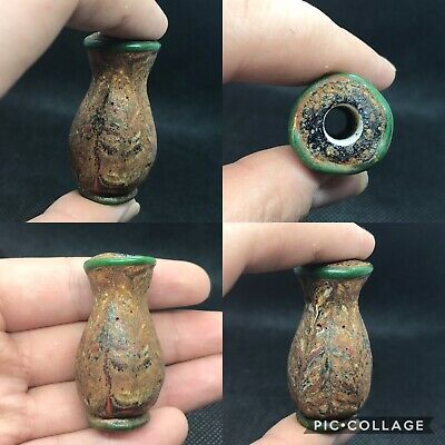 wonderful rare old Phoenician antique beautiful glass bead