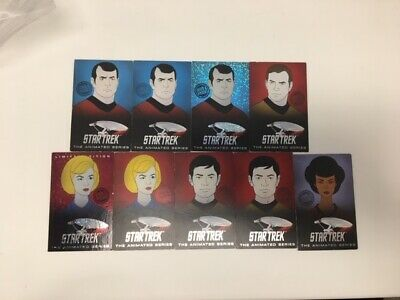 Dave & Busters coin pusher Star Trek Animated Series Cards