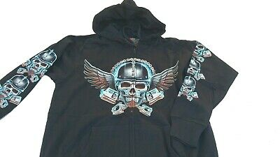 Sweat capuche fermeture zip  Rock and Rider by Rock Eagle
