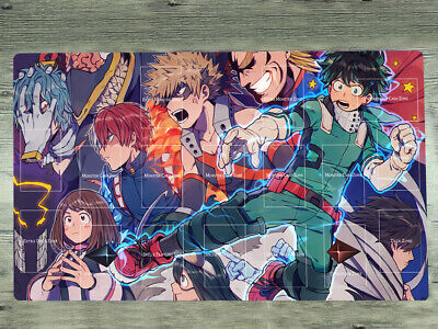 F2800 Free Mat Bag Boku No My Hero Academia Playmat Anime Mat CCG Mat Desk Mat