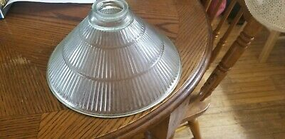 Vintage holophane industrial light shades