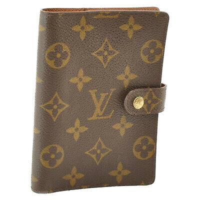 LOUIS VUITTON Monogram Agenda PM Day Planner Cover R20005 LV Auth mt010