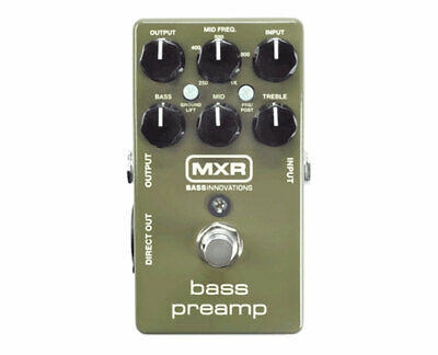 MXR M81 Bass Preamp Guitar Effects Pedal --