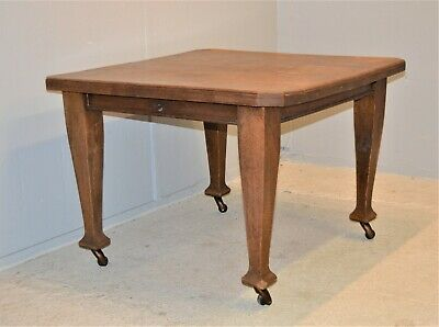 Rustic Oak Windout Dining table Antique Solid Wooden Delivery Available