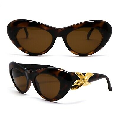 Occhiali Gianni Versace 376 900 Vintage Sunglasses New Old Stock 1990'S