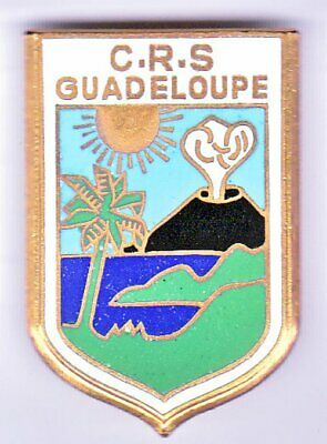 Insigne Police CRS Guadeloupe 51241.001