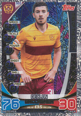 TOPPS MATCH ATTAX SPFL 2019-20 - Declan Gallagher - Motherwell - # 320 - MOTM