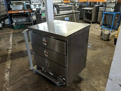Victor  Catering Food Warmer Hot Drawer Cabinet Peri Peri Chicken Unit