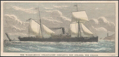 The Warrnambool Steam-packet Company's New Steamer, The Nelson