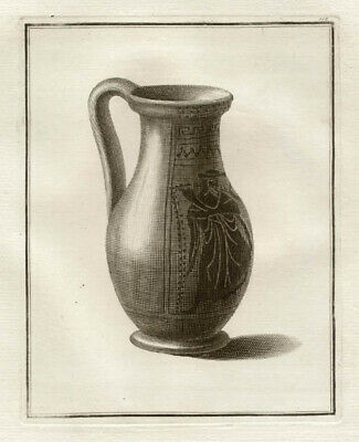 Hamilton Greek Vase - Attic black figured olpe