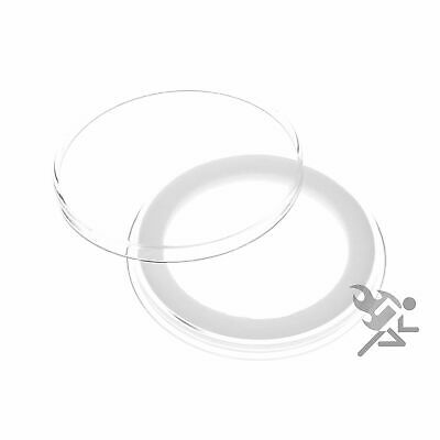 10 Air-Tite X43mm Ring Coin Holder Capsules for Coins Less Than 3.96mm Thick