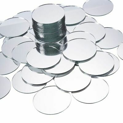 Craft Mirror - 60-Pack Mini Round Mirror Circles for Home Décor & DIY Craft, 2""