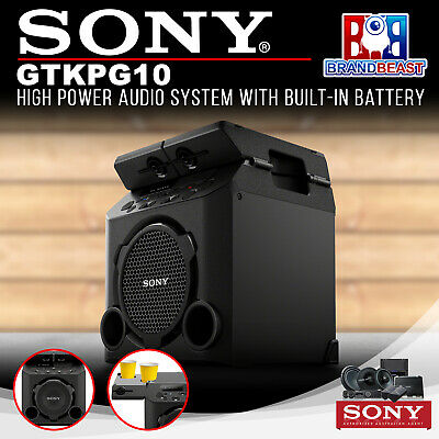 Sony GTK-PG10 PG10 High Power Audio System with Built-In Battery