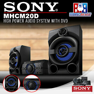 Sony MHC-M20D M20D High Power Audio System with DVD