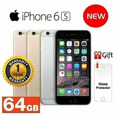 NEW APPLE IPHONE 6S 16GB 64GB Birthday Gift SPACE GREY SILVER ROSE GOLD 4G
