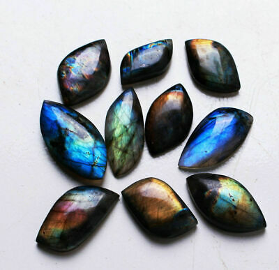 Natural Labradorite Stone Crystal Rough Polished Madagascar Rock Gift Collect