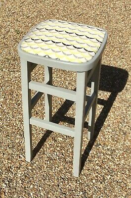 Vintage upcycled kitchen stool