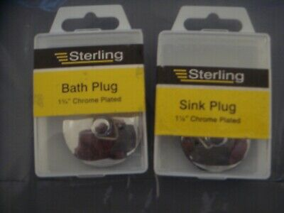 Job Lot Bath Plugs And Sink Plugs--20 Bath & 14 Sink