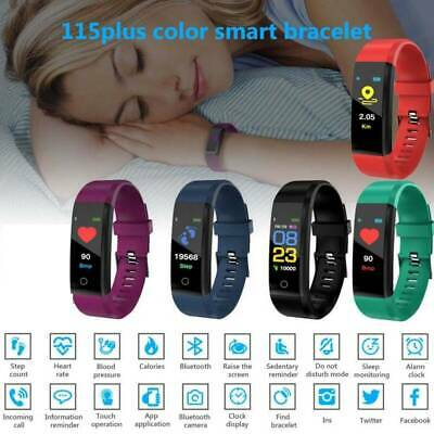 Fitness Smart Watch Activity Tracker WomenMen Kid Fitbit Android iOS Heart Rate·