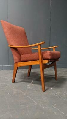 VINTAGE PARKER KNOLL ARMCHAIR 1960s MODERNIST EASY CHAIR MID
