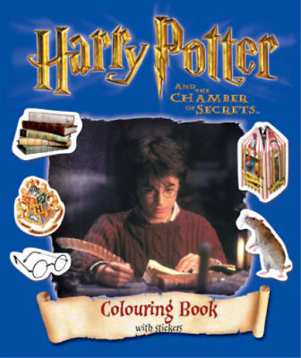 Harry Potter and the Chamber of Secrets: Colouring Activity Book, J. K. Rowling,