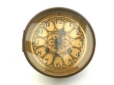 19th CENTURY FRENCH MANTEL CLOCK FACE AND MOVEMENT FOR SPARES   1430384/388