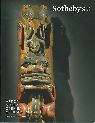 SOTHEBY'S AFRICAN OCEANIC PRE-COLUMBIAN ART AMERICAN INDIAN Catalog 2018