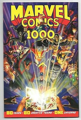 Marvel Comics MARVEL #1000 first printing