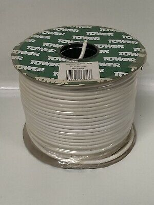 Telephone Flex 4 Pair White 100m Part No 35116-0001