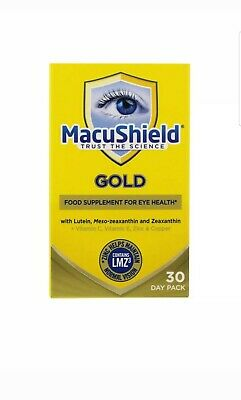 Macushield Gold 90 Capsules 1 Month Supply Brand New Long Expiry Date