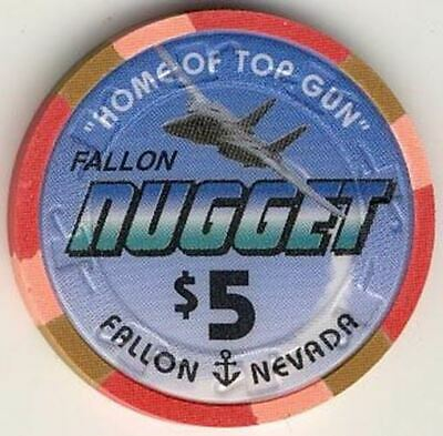 Fallon Nugget Casino $5 Chip 1997