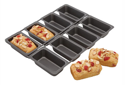 New Chicago Metallic Specialty Linked Mini Loaf Pan