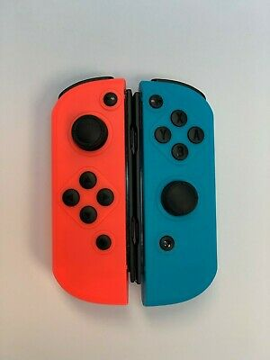For Nintendo Switch L/R Joy-con Set (Wireless) Bluetooth Controllers- Red/Blue