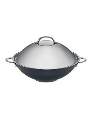 RACO Luminescence Stainless Steel 36cm Covered Wok