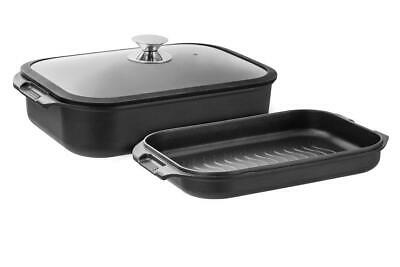 New Pyrolux HA+ Double Roast and Grill Set 2pc