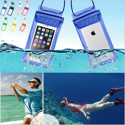 Transparent Cell Phone Waterproof Pouch With Lanyard For Mobile Phone Universal