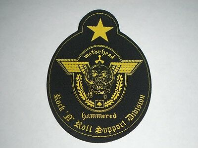 Motorhead Support Division Woven Patch