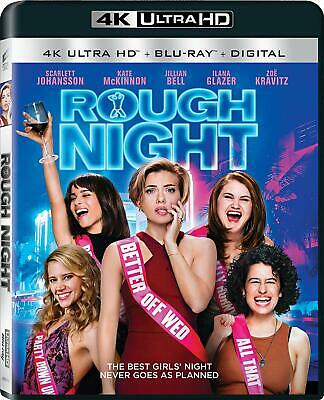 Rough Night Blu Ray 4K Ultra HD Format Language English All Regions Restricted
