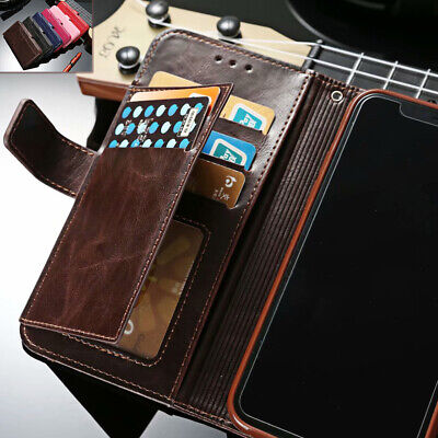 Fr iPhone XS MAX X 5 6s 7 8 Plus Flip Leather Men's Wallet Card Stand Case Cover