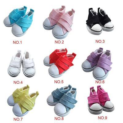5cm Doll Shoes Canvas Mini Toy Shoes1//6  For Russian  Doll Sneacker Es