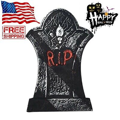 Halloween Tombstones Decoration Outdoor Scary Skeleton Skull Party Props Decor