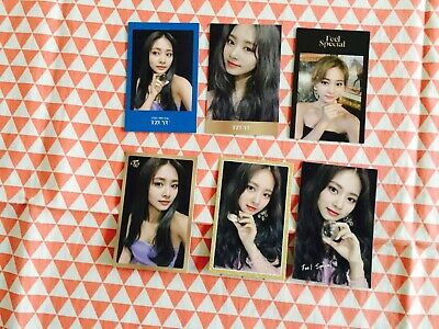 Twice Feel Special 8th mini album Random photocard Tzuyu only