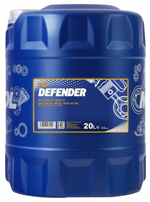 Mannol - Defender 10W40 Engine Oil Semi Synthetic MB229.1 501.01/505.00 - 20L