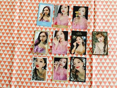Twice Feel Special 8th mini album Random photocard Nayeon only