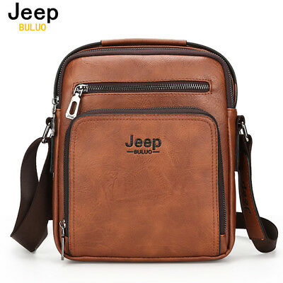New men's JEEP leather bag quality business briefcase men's handbag Messenger