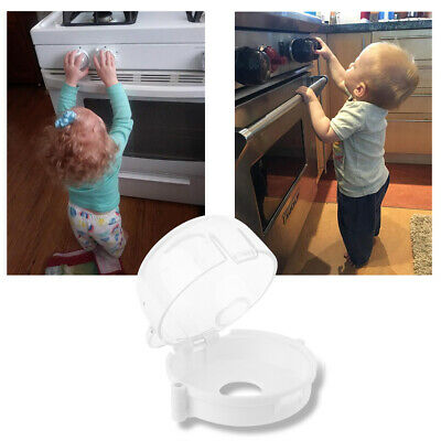 Kids Baby Gas Stove Switch Cover Locks Children Proof Oven Cooker Knob Sleeve