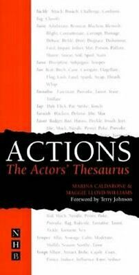 Actions: The Actors' Thesaurus by Marina Caldarone 9781854596741 | Brand New