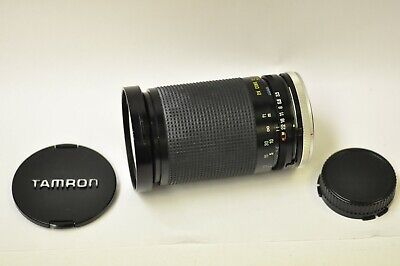 Tamron 35-135mm f3.5-4.2 macro manual focus zoom lens with Canon FD mount