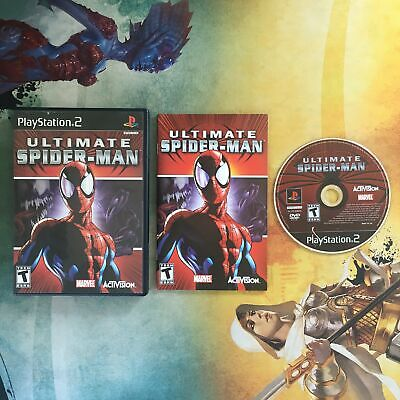 Ultimate Spider-Man • Sony PlayStation 2 PS2